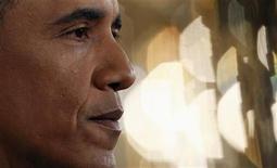 <p>El presidente de Estados Unidos, Barack Obama, durante una conferencia de prensa en la Casa Blanca en Washington, jun 29 2011. El presidente de Estados Unidos, Barack Obama, celebrará un encuentro informal para hablar sobre la economía estadounidense el 6 de julio, dijo el jueves la Casa Blanca, pero esta vez no será en un edificio normal, sino en el mundo virtual de Twitter. REUTERS/Kevin Lamarque</p>