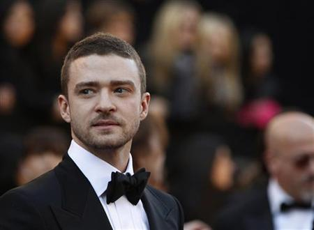 Singer Justin TImberlake arrives at the 83rd Academy Awards in Hollywood, California, February 27, 2011. REUTERS/Lucas Jackson