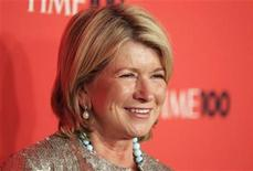 "<p>Homemaking expert Martha Stewart arrives as a guest for ""Time Magazine's 100 Most Influential People in the World"" gala in New York May 4, 2010. REUTERS/Lucas Jackson</p>"