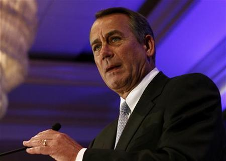 House Speaker John Boehner (R-OH) speaks at the Faith & Freedom Conference and Strategy Briefing in Washington, June 3, 2011. REUTERS/Molly Riley