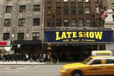 "<p>Fans wait outside the Ed Sullivan Theater for tickets to watch the first Late Show with David Letterman to air since Letterman's production company ""World Wide Pants Inc."" struck a deal with workers from the Writers Guild of America in New York January 2, 2008. REUTERS/Lucas Jackson</p>"