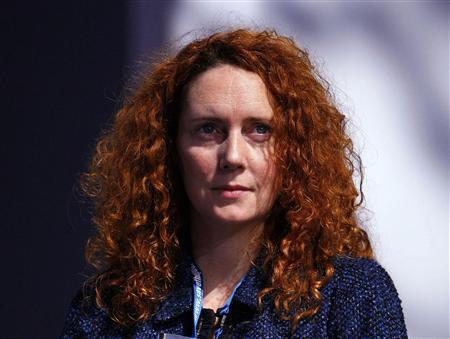 Chief Executive of News International Rebekah Brooks listens to speeches during the Conservative Party conference in Manchester, northern England in this October 6, 2009 file photograph. REUTERS/Phil Noble/Files