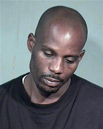Rapper Earl ''DMX'' Simmons is shown in this Maricopa County Sheriff's Department booking photograph in this July 2, 2008 file photo. REUTERS/Maricopa County Sheriff Department/Handout