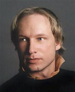 Anders Behring Breivik, 32, who according to local media was arrested by police after the shooting in Utoeya, is seen in this handout photo released to Reuters on July 23, 2011. REUTERS/Scanpix Sweden/Handout