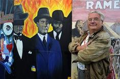 <p>British writer Ramsey Campbell poses during the XXIV Semana Negra (Black Week) book fair in the northern Spanish town of Gijon July 24, 2011. REUTERS/Eloy Alonso</p>