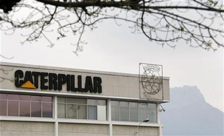 General view of the Caterpillar France site in Grenoble on March 31, 2009. REUTERS/Robert Pratta