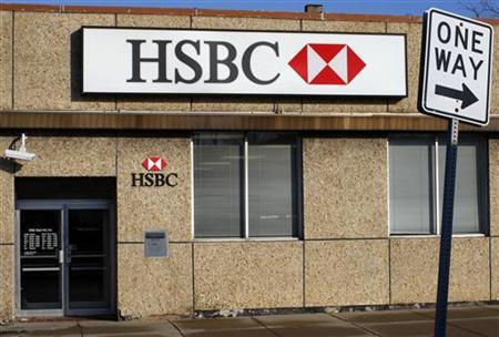 The Fillmore-Glenwood branch of HSBC bank in Buffalo, New York, November 20, 2009. REUTERS/Brian Snyder