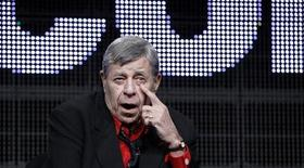 "<p>Actor and comedian Jerry Lewis speaks during the encore session for ""The Method to the Madness of Jerry Lewis"" at the 2011 Summer Television Critics Association Cable Press Tour in Beverly Hills, California July 29, 2011. REUTERS/Mario Anzuoni</p>"