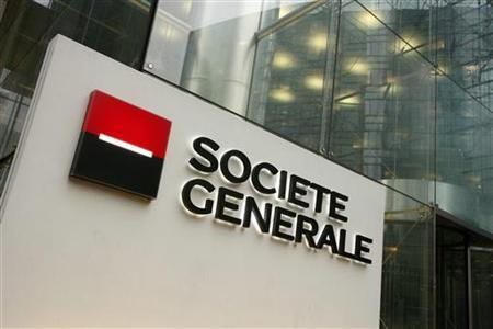 The headquarters of Societe Generale in La Defense, outside Paris, in a file photo. REUTERS/Benoit Tessier