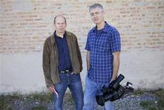 "<p>Producer Alex Kotlowitz (L) and Producer/Director Steve James in the film ""The Interrupters"". REUTERS/Aaron Wickenden/Kartemquin Films</p>"