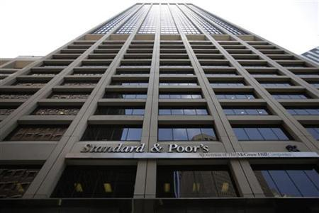 The Standard and Poor's building is seen in New York, August 8, 2011. REUTERS/Brendan McDermid