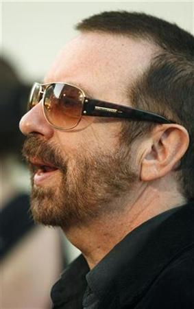 Musician Dave Stewart is interviewed at the premiere of the documentary film ''Runnin' Down A Dream: Tom Petty and the Heartbreakers'', at Warner Bros. studios in Burbank, California in this file image from October 2, 2007. REUTERS/Fred Prouser/Files