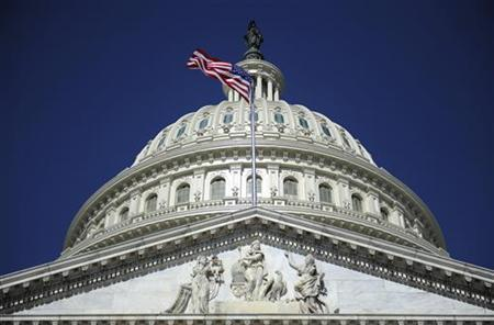 The U.S. Capitol dome in Washington, August 2, 2011. REUTERS/Jonathan Ernst