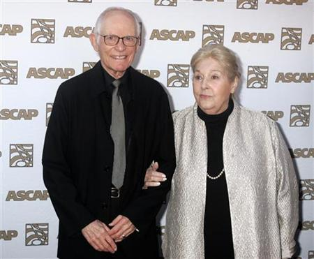 Alan and Marilyn Bergman at the 26th annual ASCAP Pop Music Awards in Hollywood, April 22, 2009. REUTERS/Fred Prouser