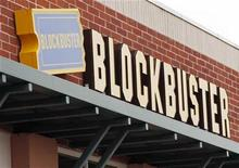 <p>A Blockbuster movie rental store is seen in Golden, Colorado September 16, 2009. REUTERS/Rick Wilking</p>