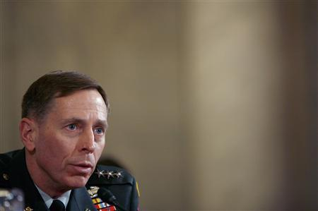 Lieutenant General David Petraeus testifies to the Senate Armed Forces Committee about his nomination to be general and commander of the Multi-National Forces in Iraq at a hearing on Capitol Hill in Washington, in this January, 23, 2007 file photo. Newly retired General David Petraeus is well aware that his swearing-in as the next director of the CIA, expected on September 6, 2011, might stoke concerns about the ''militarization'' of the U.S. spy agency. It was one of the reasons the storied battlefield commander hung up his uniform last week after a 37-year career in the Army. It may also be why he appears so intent on fulfilling a pledge to leave his military entourage -- ''braintrusts'' as he calls them -- behind when he arrives at the CIA's Langley, Virginia, compound. REUTERS/Joshua Roberts/Files