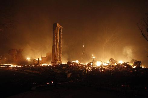Texas wildfires rage