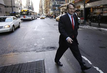 Bank of America CEO Brian Moynihan is seen after leaving a meeting with lawyer Davis Polk in New York in this file image from January 13, 2011. REUTERS/Jessica Rinaldi