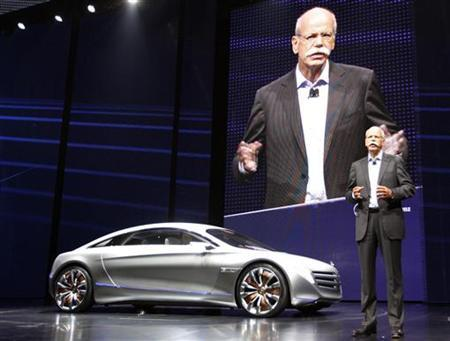 Daimler ceo eads stake talks progressing reuters for Mercedes benz ceo