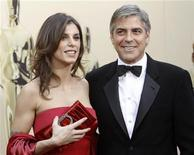 "<p>In this file photo George Clooney, best actor nominee for ""Up in the Air"", and his then girlfriend Elisabetta Canalis arrive at the 82nd Academy Awards in Hollywood, March 7, 2010. REUTERS/Mario Anzuoni</p>"