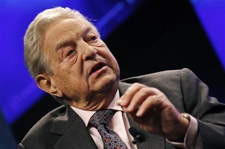 Billionaire financier George Soros speaks at a Reuters Newsmaker event in New York September 15, 2010. REUTERS/Mike Segar