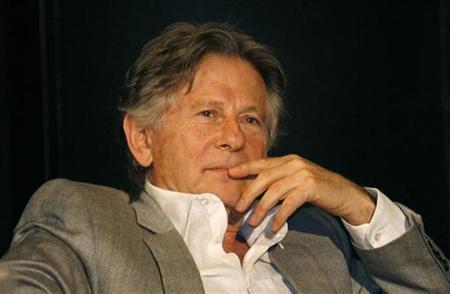 Director Roman Polanski reacts during a news conference to present his musical 'Tanz der Vampire' ('Dance of the Vampires') in Oberhausen September 29, 2008. REUTERS/Ina Fassbender