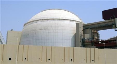 EDITORS' NOTE: Reuters and other foreign media are subject to Iranian restrictions on leaving the office to report, film or take pictures in Tehran. A general view of the Bushehr main nuclear reactor, 746 miles south of Tehran, August 21, 2010. REUTERS/Raheb Homavandi