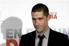 "<p>Actor Matthew Fox poses for a picture during the premiere of Pete Travis' movie ""Vantage Point"" in Salamanca, central Spain February 13, 2008. REUTERS/Andrea Comas</p>"
