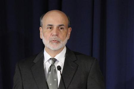 Federal Reserve Chairman Ben Bernanke makes remarks at the start of a conference on systemic risk, at the Federal Reserve in Washington September 15, 2011. REUTERS/Jonathan Ernst