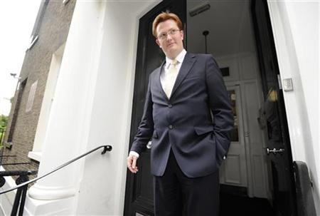 Britain's Treasury Minister Danny Alexander leaves the Institute for Public Policy Research (IPPR) in London June 17, 2011. REUTERS/Paul Hackett