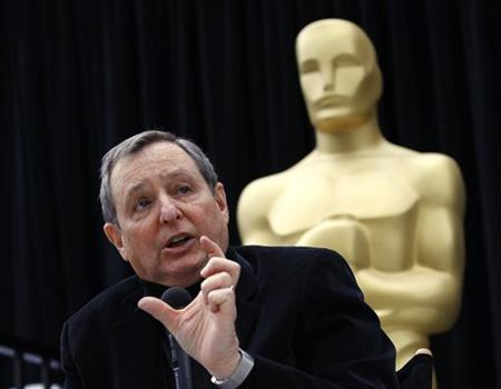 Tom Sherak, president of The Academy of Motion Picture Arts & Sciences, speaks at a news conference during preparations for the 83rd Academy Awards in Hollywood, California February 25, 2011. REUTERS/Mario Anzuoni