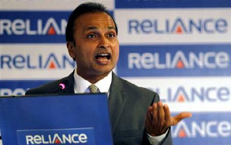Anil Ambani, chairman of the Reliance Anil Dhirubhai Ambani Group, speaks during a news conference in Mumbai January 16, 2011. REUTERS/Danish Siddiqui/Files