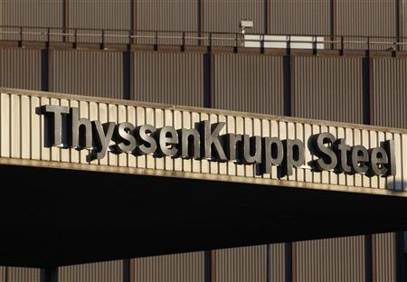 The headquarters of Germany's industrial conglomerate ThyssenKrupp AG is seen in Duisburg September 23, 2010. REUTERS/Ina Fassbender