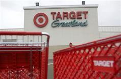 <p>A Target retail store is shown in Daly City, California February 23, 2010. REUTERS/Robert Galbraith</p>