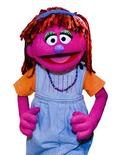 <p>New Muppet character Lily, whose family has an ongoing struggle with hunger, is seen in an undated handout image. REUTERS/Sesame Workshop/Handout</p>