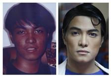 "<p>A combination photo shows Herbert Chavez before and after his cosmetic transformation to look more like the comic book character Superman in Calamba Laguna, south of Manila October 12, 2011. In his idolization of the superhero, Chavez, a self-professed ""pageant trainer"" who owns two costume stores, has undergone a series of cosmetic surgeries for his nose, cheeks, lips and chin down to his thighs and even his skin color to look more like the ""Man of Steel"". The final result bears little resemblance to his old self. The photo on the left was taken when Chavez was 16. REUTERS/Handout (L) and Cheryl Ravelo</p>"