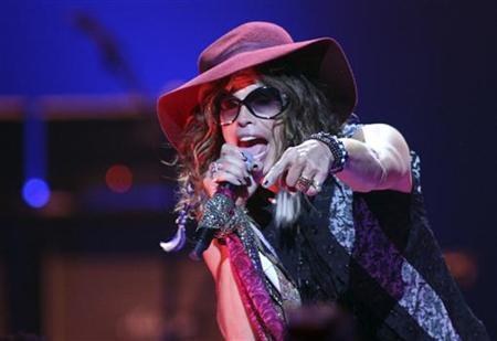 Steven Tyler of Aerosmith performs during the second day of the iHeartRadio Music Festival at the MGM Grand Garden Arena in Las Vegas, Nevada September 24, 2011. REUTERS/Steve Marcus