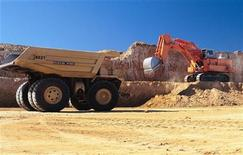 <p>A truck is loaded at Macarthur Coal's Coppabella mine located about 760km (472 miles) northwest of Brisbane in this undated handout photograph. U REUTERS/Macarthur Coal/Handout</p>