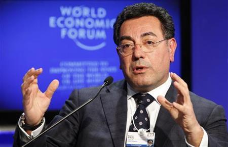 Samir Brikho, CEO of Amec attends a session at the World Economic Forum (WEF) in Davos January 29, 2010. REUTERS/Michael Buholzer