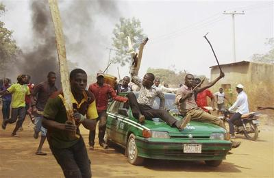 Fuel protests in Nigeria