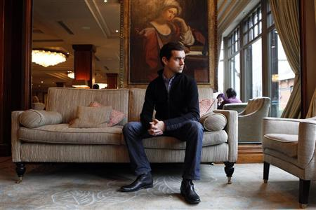 Twitter's Chairman Jack Dorsey attends a photocall in the Westbury Hotel to mark the opening of Founders in Dublin October 28, 2010. REUTERS/Cathal McNaughton