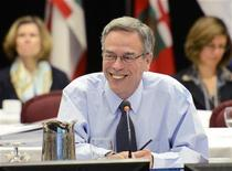 <p>Joe Oliver Minister of Natural Resources chairs the Canadian energy and mines conference in Kananaskis, Alberta, July 19, 2011. REUTERS/Todd Korol</p>