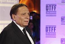 <p>Actor Adel Imam attends the Awards Show and Closing Night Red Carpet and Screening of 'The First Grader' during the 2010 Doha Tribeca Film Festival in Doha October 30, 2010. REUTERS/Mohammed Dabbous</p>
