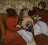<p>The Milliners, c. 1898; by Edgar Degas, part of the St. Louis Art Museum's collection, is pictured in an undated handout photo obtained by Reuters January 3, 2012. REUTERS/St. Louis Art Museum/Handout.</p>