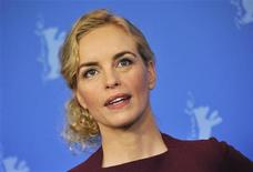 <p>Cast members Nina Hoss poses for pictures during a photocall to promote the movie 'Barbara' at the 62nd Berlinale International Film Festival in Berlin February 11, 2012. REUTERS/Morris Mac Matzen</p>