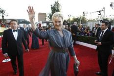 "<p>Actress Meryl Streep from the film ""The Iron Lady"" arrives at the 18th annual Screen Actors Guild Awards in Los Angeles, California January 29, 2012. REUTERS/Mario Anzuoni</p>"