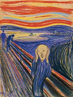 Edvard Munch's ''The Scream'' is seen in this undated handout photograph released in London February 21, 2012. REUTERS/Sotheby's/Handout