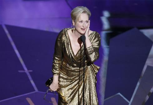 Meryl Streep winning awards
