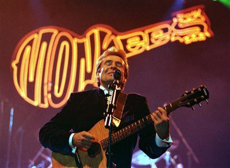 Davy Jones, lead singer of the sixties rock band The Monkees, performs at the Newcastle Arena in this March 7, 1997 file photo. Jones, former lead singer of the 1960s made-for-television pop band The Monkees, died on February 29, 2012, in Florida, according to an official from the local medical examiner's office. REUTERS/Dan Chung/Files