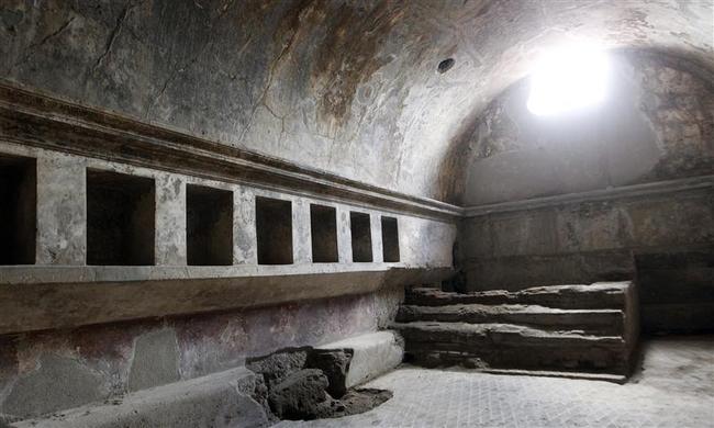Ruinas de Pompeya luego del derrumbe del 2010